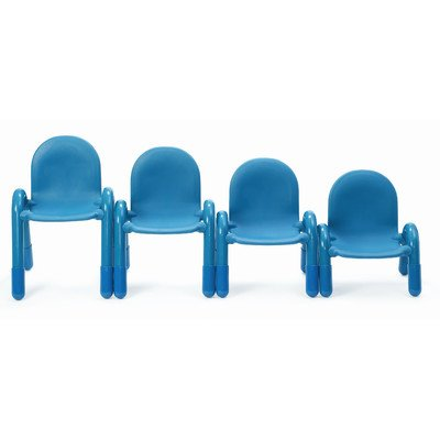"Baseline 7"" Plastic Classroom Chair Seat Color: Royal Blue"