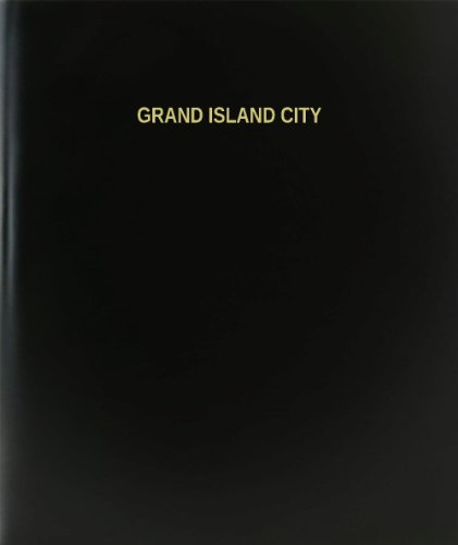 BookFactory® Grand Island City Log Book / Journal / Logbook - 120 Page, 8.5