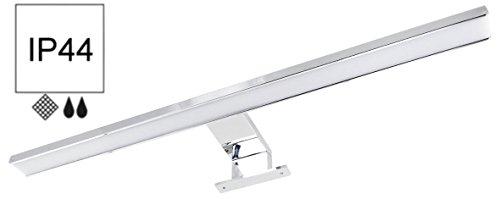 HAVA® - 2in1 8W IP44 LED Aluminium Spiegelleuchte 500mm 600lm - Aufsatz + Schraubmontage - tagesweiß (4000 K)