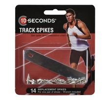 """10 Seconds 14 Replacement Track Spikes 3/8"""" Pyramid"""
