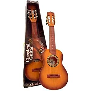 JohnMacc 6-String Classical Musical Instrument Guitar Learning Toy for Kids