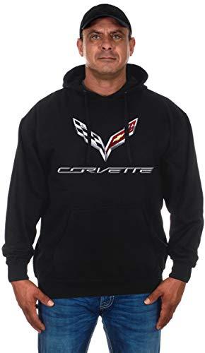 edbb6d09395 JH DESIGN GROUP Men s Chevy Corvette Hoodies-Pullover   Zip Up Sweatshirts  in 6 Styles