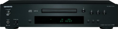 - Onkyo C-7030 Compact Disc Player (Black)