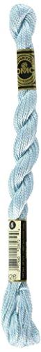 - DMC 115 5-828 Pearl Cotton Thread, Ultra Very Light Blue, Size 5