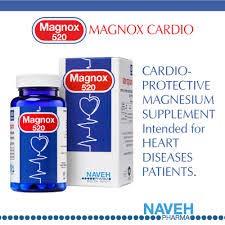MAGNOX 520 - Prevent Heart Attack, MIGRAINES, Fatigue, Leg Cramps