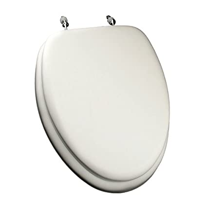 Comfort Seats C1B5E2-00CH Deluxe Soft Toilet Seat with Wood Cores ...