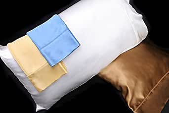 Cinnamon Brown Silk Pillowcase Covers (Free Worldwide Shipping)