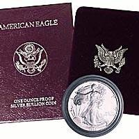 Proof American Silver Eagle 1993 ()