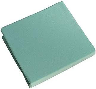Pirulos S/ábana Bajera Ajustable de Alta Calidad 100/% Algod/ón para Cuna de 60 x 120 cm//S/ábana Bajera Cuna Beb/é Alta Calidad Color Blanco