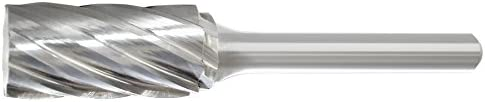 Viking Drill and Tool 17469 Cylinder Shape End Double Cut Boring Bit 3//16