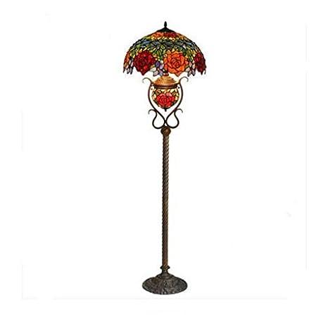 Europeo lámpara de pie salón dormitorio de cama Pastorale ...