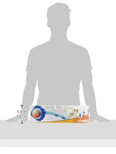 Conair Body Benefits Heated Body Flex Massager, 1 ea