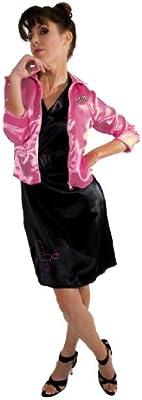 Grease C366-001 - Disfraz de las Damas rosas (vestido y chaqueta ...