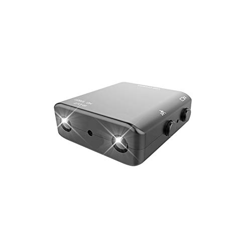 YOZOOE Webcams Spy Camera,Spy Gear Car Dash Cam Smallest Hidden Camera, 1080P Full HD Camera XD Mini Camcorder Micro Infrared Night Vision Cam Motion Detection IR-C Audio & Video Accessories