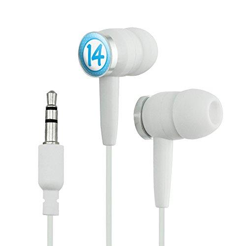 Birthday Blue Dots 14 Novelty In-Ear Earbud Headph...