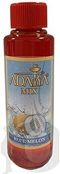 Melaza Adalya Blue Melon para shisha SIN NICOTINA - Sabor: Melón y arándanos (170 ml) - Sustitutivo de tabaco sin nicotina para cachimba