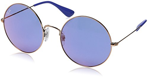 Ray-Ban Women's Metal Woman Round Sunglasses, Shiny Copper, 55 - Jajo Ray Ban