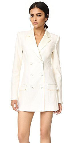 Rachel Zoe Women's Tuxedo Dress, Ivory, 10