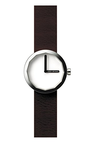 Issey Miyake Women's TWELVE Watch Brown #SILAP015