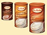 3 Cans Tim Hortons 1-french Vanilla Cappuccino Rich