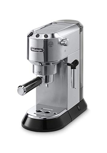 Delonghi EC680M Dedica Manual 15-Bar Pump Espresso Machine – Stainless Steel