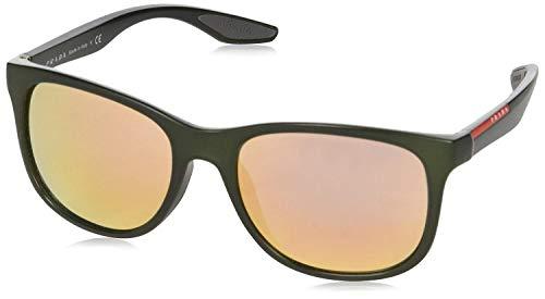 Discount Prada Sunglasses - Prada Linea Rossa PS 3OS ROS2D2 Sunglasses Military Green Demi Shiny