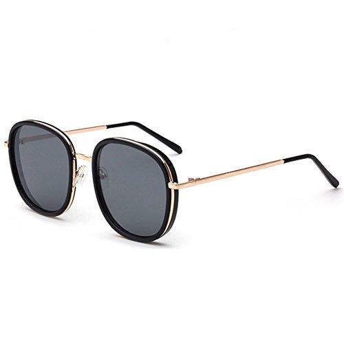 Z-P Vintage Wayfarer Metal Round Reflective UV400 Sunglasses - Wear What Face Shape Round Should Glasses