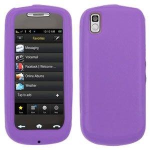 Samsung Instinct Silicone Case (Amzer Silicone Jelly Case for Samsung Instinct s30 SPH-M810 - Purple Lilac)