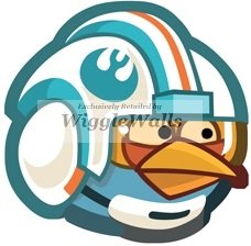 Amazon com: 3 Inches Blue Bird Angry Birds Star Wars