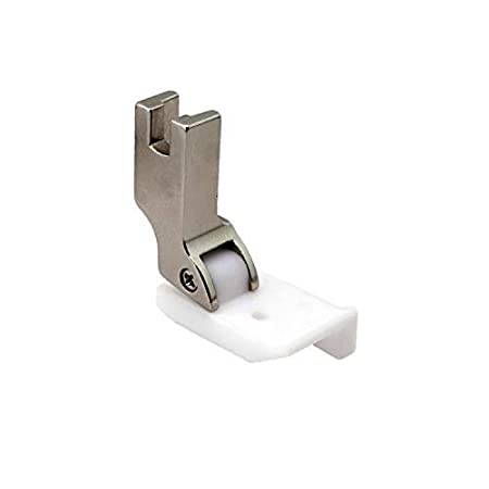 Cutex 1//8 Brand Leather Sewing Teflon Hinged Top-Stitching Presser Foot with Right Guide TM