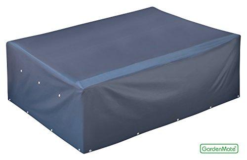 GardenMate 200x160x70cm OXFORD Polyester Schutzhülle für Gartenmöbel - Premium Qualität aus hochwertigem 220GSM Oxford Material - Anthrazit