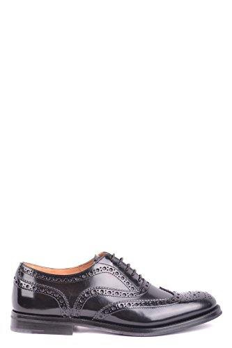 Noir Lacets À Cuir Church's Femme Chaussures Mcbi069145o EOw7C7gxq