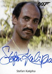 James Trammels Archives - Stefan Kalipha as Hector Gonzales Full Bleed Autograph Card