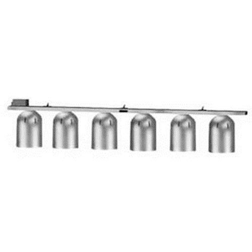 Nemco 6006-6 Heat Lamp, Pendant Style, Single Row Suspension Bar, (6) 250 Watt In (Suspension Bar Heat Lamp)