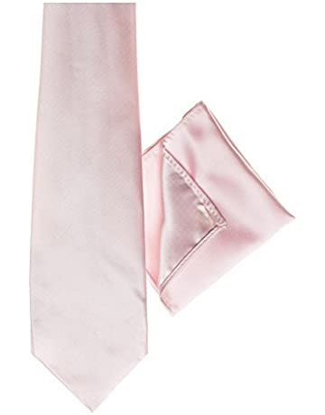 Corbata rosa palo