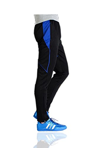 Athletic Pants for Outdoor and Multi Sports Blue US Medium/Label 2X-Large