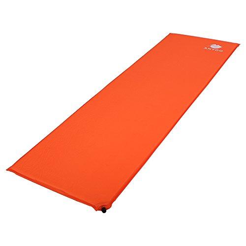 本物救出負担Anyoo 超軽量アウトドアスリーピングパッド自吸式耐湿性快適なコンパクトエアマットレスキャリングバッグ付きテント用軽量寝袋バックパックハイキングトラベル