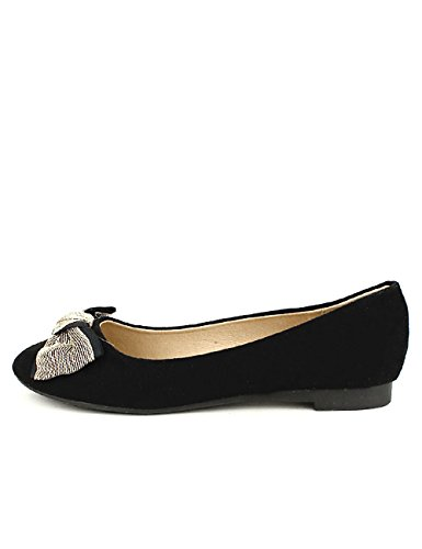 Cendriyon Ballerines Noires Sixth and Shoes Chaussures Femme Noir