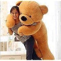 SANA Polyester Life Size Stuffed Soft 3 Feet Teddy Bear (Brown)