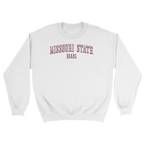 Official NCAA Missouri State University Bears - RYLMOU07, G.A.18000, WHT, M
