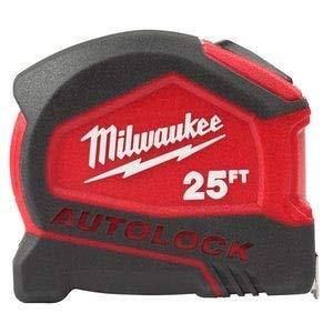 Milwaukee 48-22-6825 25 Foot Compact Auto Lock Tape ()
