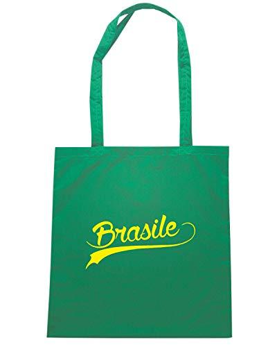 Speed Shirt Borsa Shopper Verde WC0043 BRAZIL BRSILE