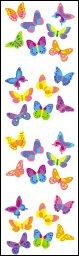 Bitsy Butterflies II - Mrs Grossmans Sticker Strips