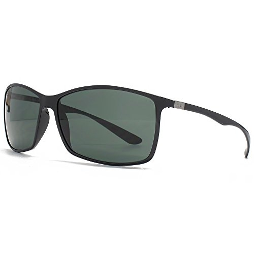 Ray-Ban Liteforce Classic Rectangle Sunglasses in Black Green RB4179 601/71 62