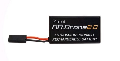 Parrot AR.Drone 2.0 Battery Lithium-Polymer Replacement Battery (Renewed) by Parrot