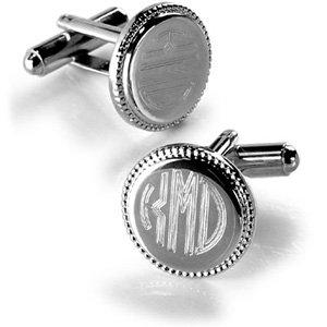 Polished Silver Links - Plain (Plain Cufflinks Polished)