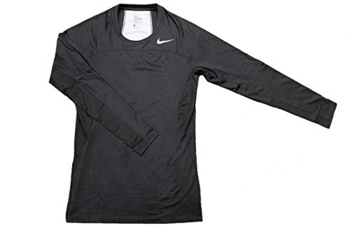 NIKE Men's Hypercool Compression Shirt (XL, Black)