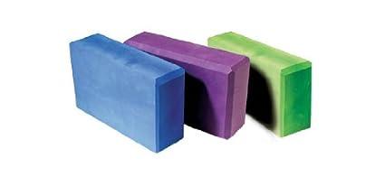 Yoga Block Color: Blue Dahlia