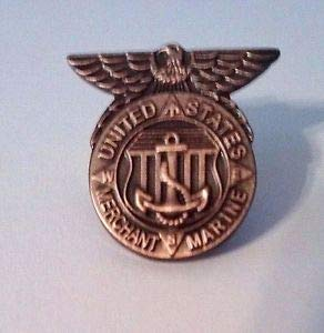 United States Merchant Marine Honorable Service Lapel Pin by HighQ Store