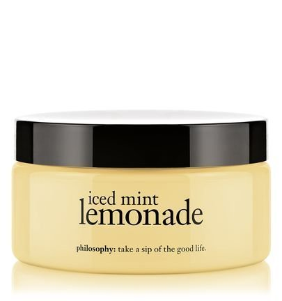 Philosophy Iced Mint Lemonade Glazed Body Souffle, 8 Ounce